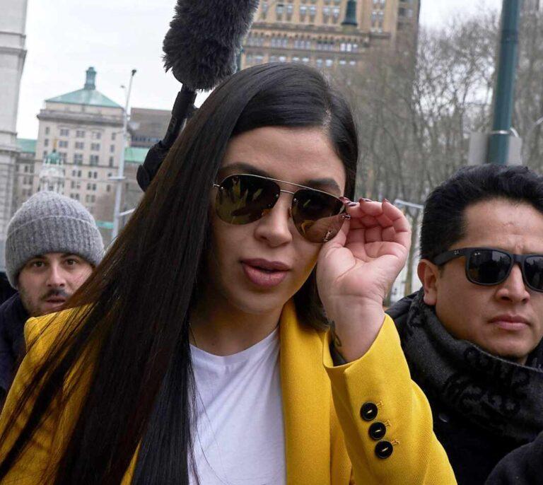 La mujer del Chapo Guzmán se declara culpable de tráfico de drogas y lavado de dinero