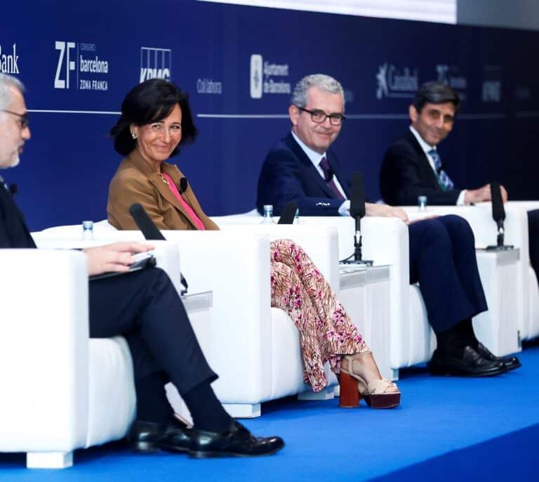 Botín, Isla y Álvarez-Pallete coinciden en que España crecerá por encima de las previsiones