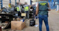 Desarticulan con diez detenidos una red dedicada al robo y al tráfico ilícito de vehículos