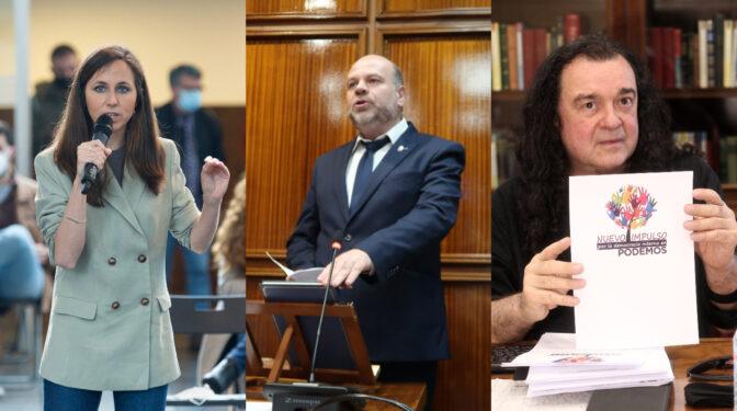 Belarra, Tettamanti y Barredo: los tres nombres que aspiran a suceder a Iglesias en Podemos