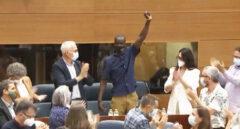 """Tensión por las """"palabras racistas"""" de Monasterio contra el diputado Mbayé: """"Entró de forma ilegal"""""""