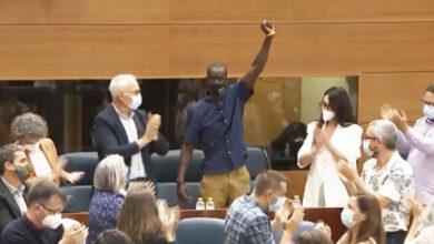 """Tensión en la Asamblea por las """"palabras racistas"""" de Monasterio contra el diputado Mbayé: """"Entró de forma ilegal"""""""
