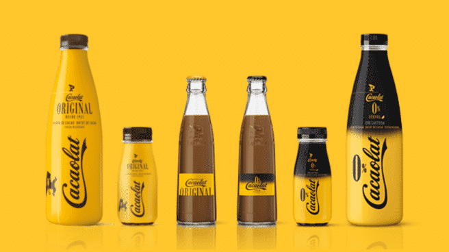 Imagen de productos de Cacaolat.