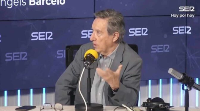 "Iñaki Gabilondo sobre Díaz Ayuso: ""Está siendo un poco analfabeta institucional"""