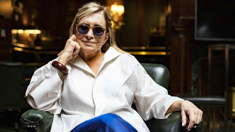 La periodista Carmen Rigalt posa para El Independiente en el Hotel Palace