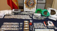 Desmantelado un piso en Orcasitas donde decenas jóvenes hacían cola para comprar droga