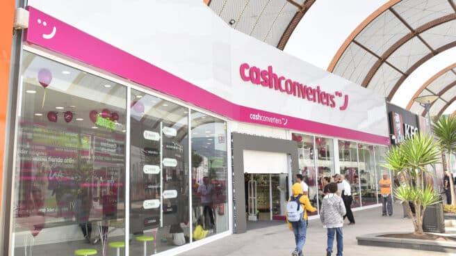 Exterior de una tienda de Cash Converters.