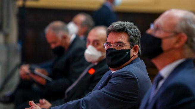 El ministro de Inclusión, Seguridad Social y Migraciones, José Luis Escriva