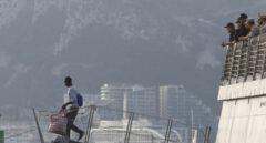 Desembarco del buque 'Audaz' al Muelle de Crinavis, en Algeciras.