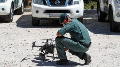 La Guardia Civil prevé comprar  75 drones en tres años para doblar la flota actual