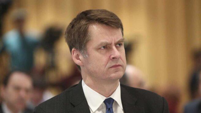 El embajador del Reino Unido en España, Hugh Elliott