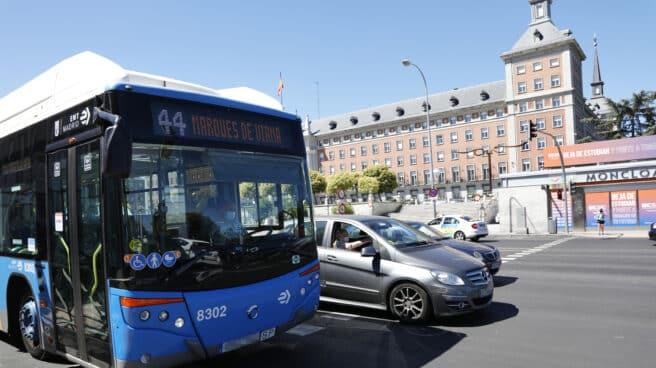 Autobús de la EMT en Madrid.
