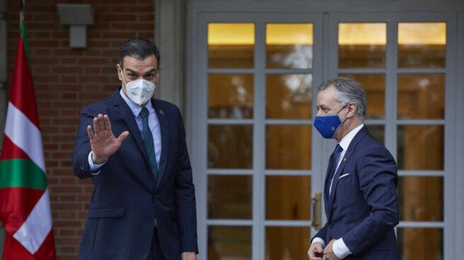El presidente Pedro Sánchez y el lehendakari Iñigo Urkullu durante uno de sus encuentros en La Moncloa.