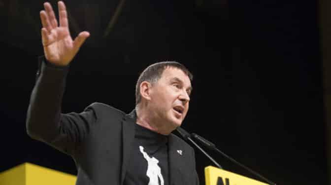 Otegi llama a sumarse al cambio en Cataluña para dar otro encaje a Euskadi en el Estado