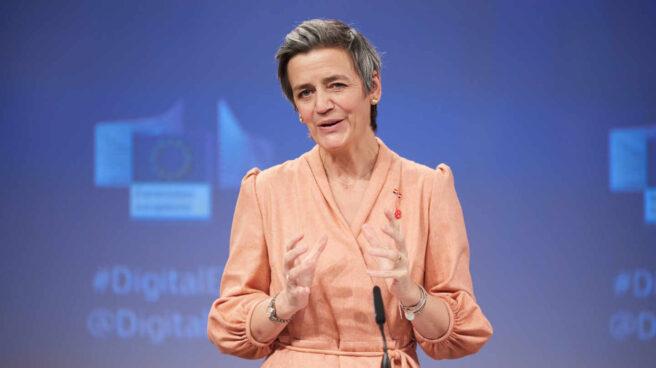Margrethe Vestager, vicepresidenta de la Comisión Europea.