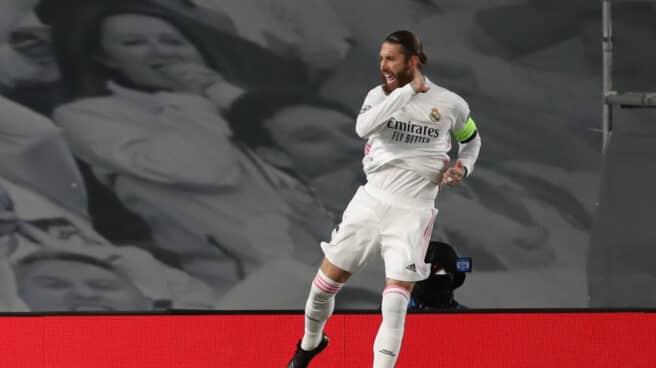 El capitán del Real Madrid, Sergio Ramos.