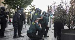 Incidentes en el mitin de Vox en Navalcarnero.