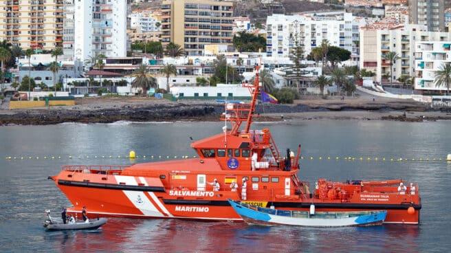 Un barco de Salvamento Marítimo, en una imagen de archivo.