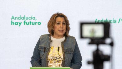 """Susana Díaz se lamenta de que está sufriendo """"ataques muy feroces"""""""