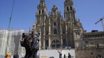 La catedral de Santiago pierde 750 toneladas