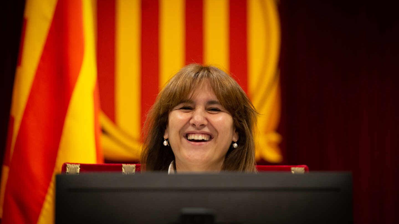 Laura Borràs, presidenta del Parlament.