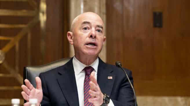 El secretario de Seguridad Nacional de Estados Unidos, Alejandro Mayorkas