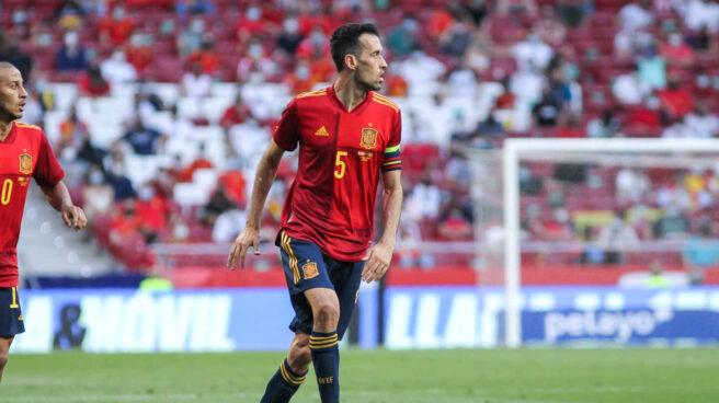 El capitán de la selección española, Sergio Busquets.