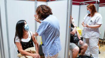 Madrid empezará a vacunar a mayores de 16 años la próxima semana