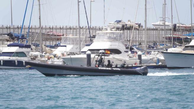 Agentes de la Guardia Civil en Tenerife.