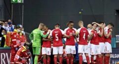 Suspendido el Dinamarca-Finlandia tras caer fulminado al césped el jugador danés Eriksen