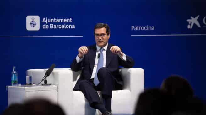"""El presidente de la CEOE, Antonio Garamendi, interviene en la inauguración de la segunda jornada de la XXXVI Reunión del Cercle d""""Economia"""