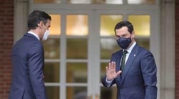Juanma Moreno traslada a Sánchez que no tiene intención de convocar elecciones aunque le beneficie