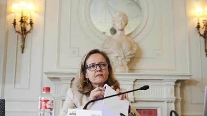 """Calviño, sobre los indultos: """"La estabilidad política y social es un activo económico"""""""