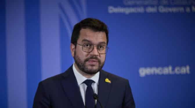 Aragonès contraataca con el Acuerdo por la Amnistía y no irá a la Conferencia de Presidentes