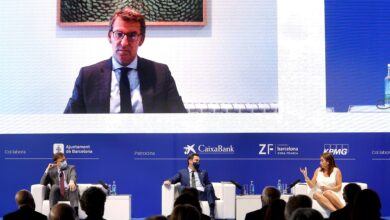 """Feijóo, Moreno, Puig y Armengol reclaman nueva financiación y """"bascular hacia la periferia"""""""