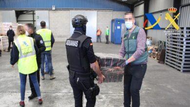 Incautados 1.400 kilos de cocaína en Bilbao: alcanzarían 86 millones en el mercado