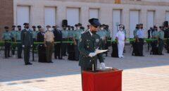 Toma de posesión del mando de la Comandancia de la Guardia Civil en Barcelona