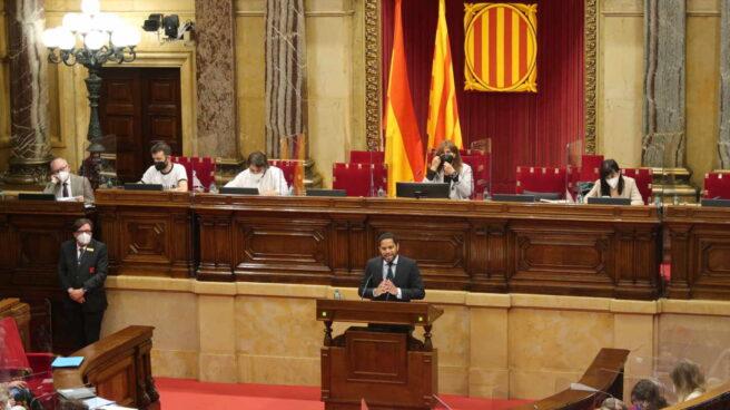 Ignacio Garriga en el Parlament