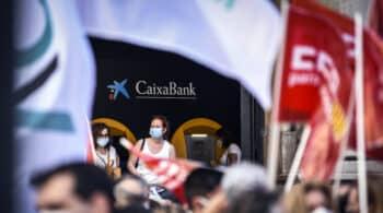 Los sindicatos de CaixaBank convocan una nueva jornada de huelga el próximo martes