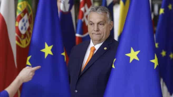 El primer ministro húngaro, Viktor Orban, en la última cumbre europea
