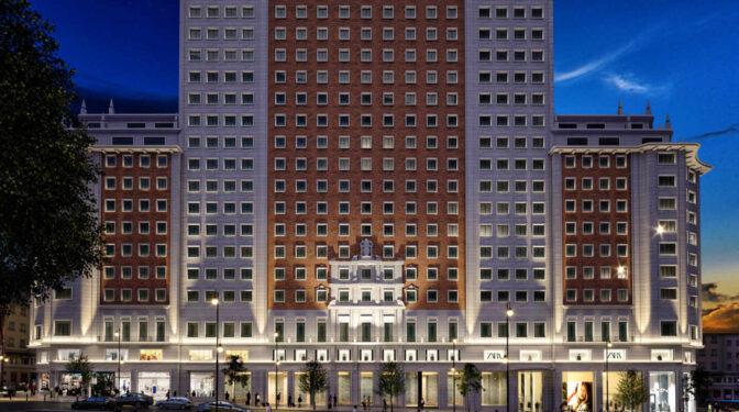 Inditex abrirá una nueva megatienda de Zara en el Edificio España