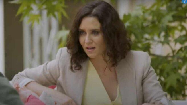 Isabel Díaz Ayuso en el programa 'Mi Casa es la Tuya'