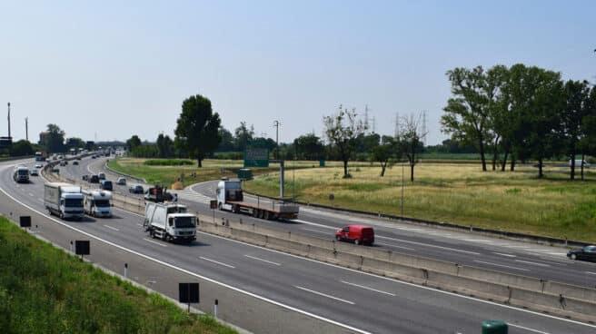 Un tramo de la autopista italiana objeto de la concesión.