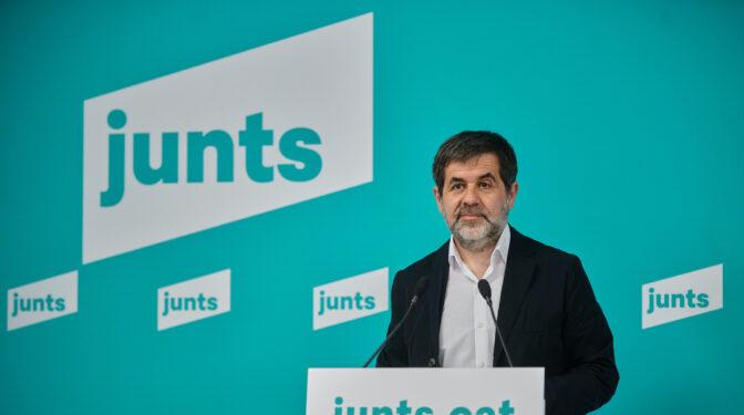 """Jordi Sánchez avisa que los participantes de la mesa """"los decidirán JxCat y ERC, sean o no del Govern"""""""