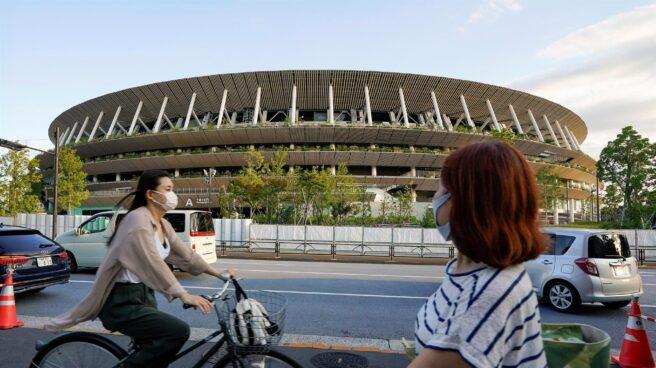 El Estadio Olímpico de Tokio, el escenario central de los Juegos