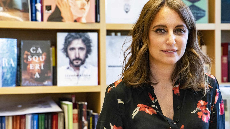 Andrea Levy, durante su entrevista con El Independiente en el Palacio de Cibeles