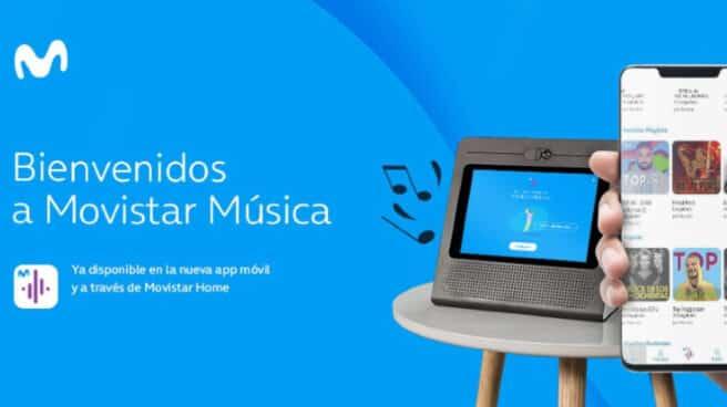 Nueva plataforma de Movistar Música