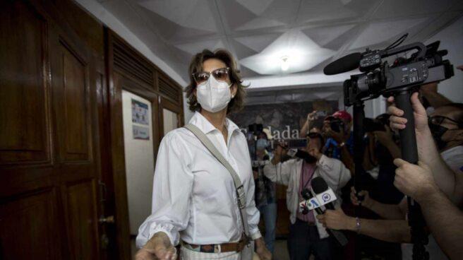 La opositora nicaragüense Cristiana Chamorro, ahora bajo arresto domiciiario