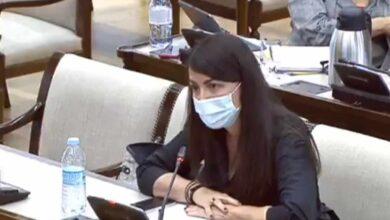 """Macarena Olona denuncia haber sido """"amenazada"""" por un diputado del PP en la Comisión Kitchen"""