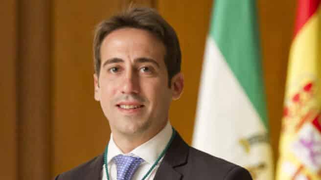 El vicepresidente tercero de la Diputación de Almería, Óscar Liria.